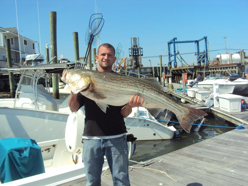 Stalker fishing charters schedule for Private fishing charters nj